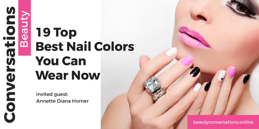 Beauty conversations Ad with Attractive Woman — Crea un design