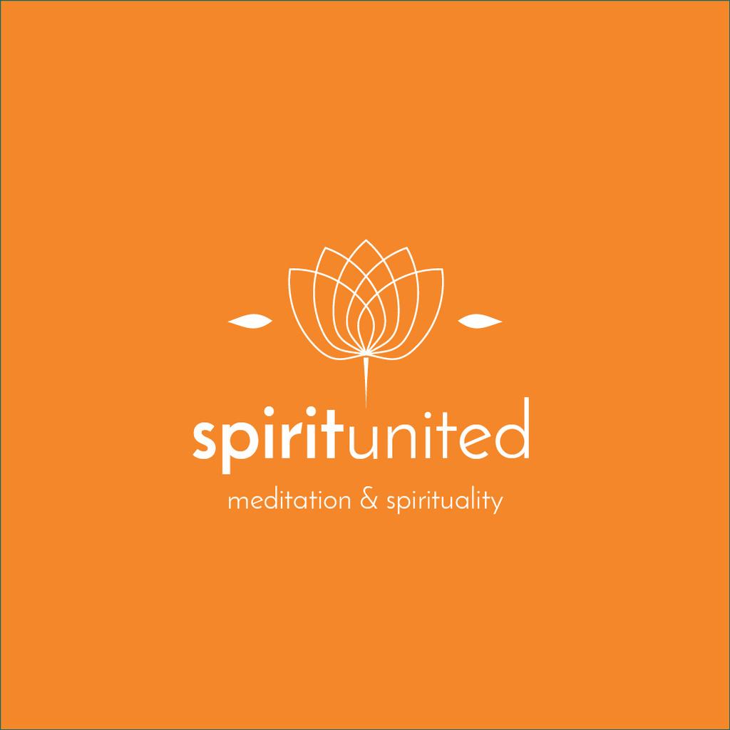 Wellness Center Ad with Lotus Flower — Maak een ontwerp