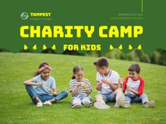 Happy Children at Kids Camp