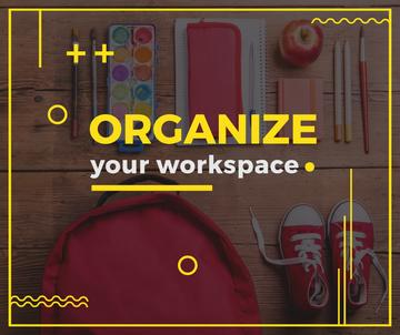 School Stationery at workplace