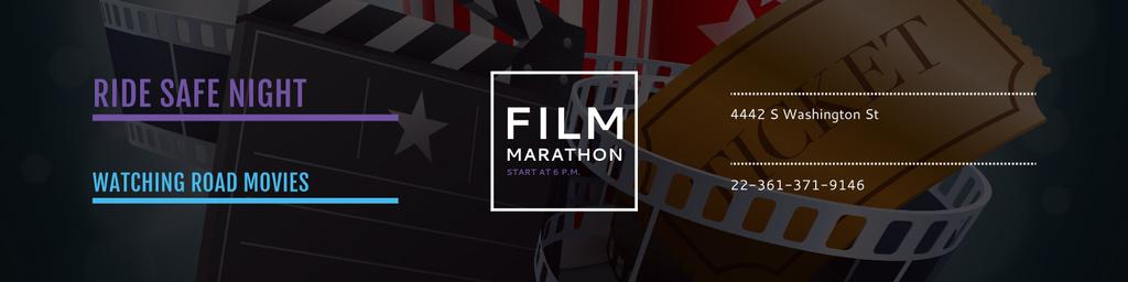 Film marathon night - Bir Tasarım Oluşturun