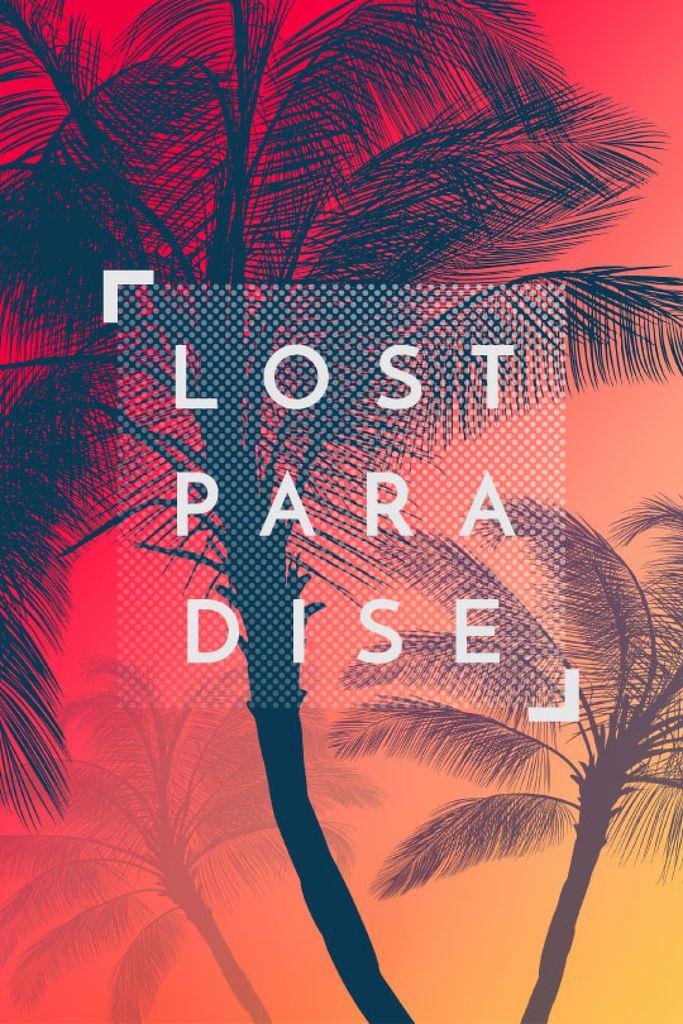 lost paradise banner — ein Design erstellen