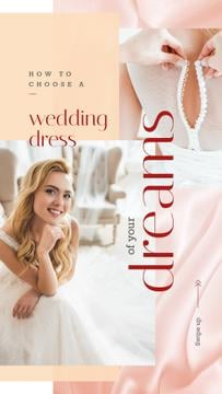 Wedding Day Bride Getting Dressed | Stories Template