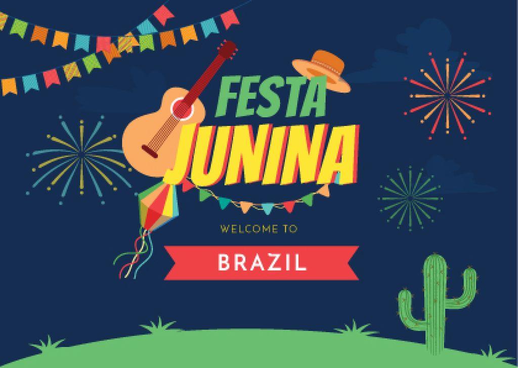 Festa Junina Bright Party — Create a Design