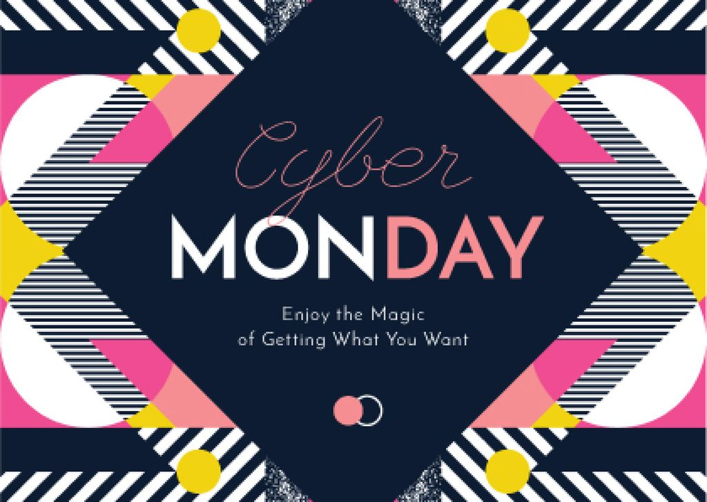Cyber Monday Sale Announcement — Modelo de projeto