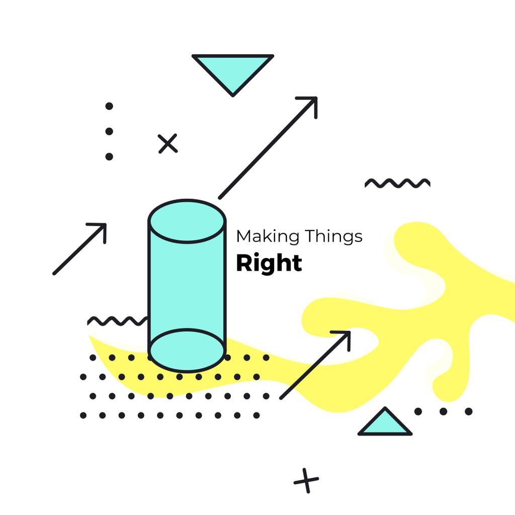 Moving geometric figures — Створити дизайн