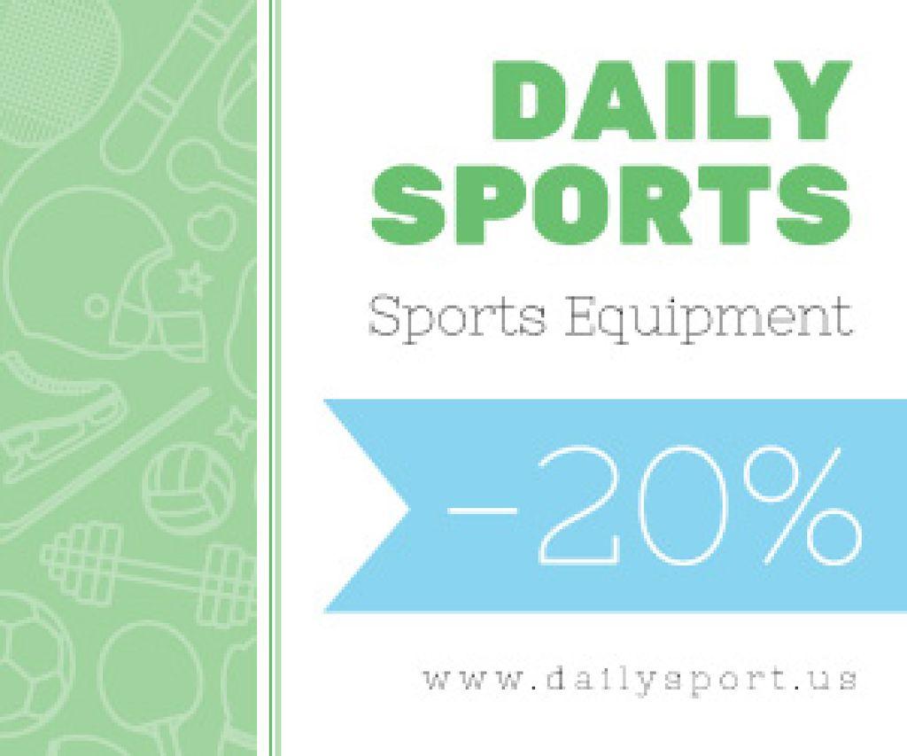 Sports equipment sale advertisement — Create a Design