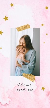 Plantilla de diseño de Happy mother with her baby Snapchat Moment Filter