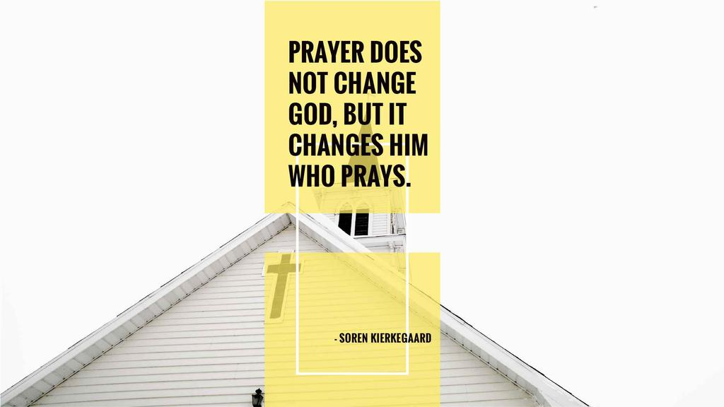 Religion citation about prayer — Create a Design
