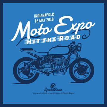 Moto expo poster