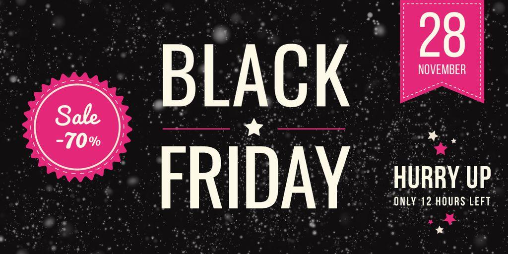 black Friday sale poster — Modelo de projeto