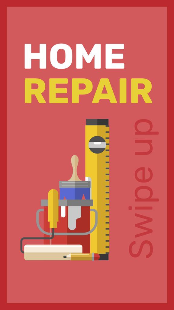 Modèle de visuel Tools for home renovation service - Instagram Story