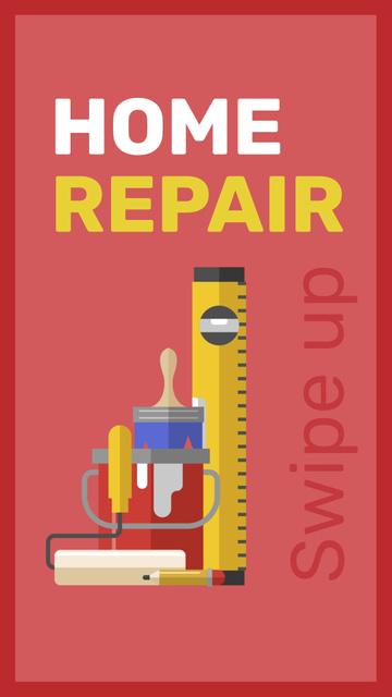 Szablon projektu Tools for home renovation service Instagram Story