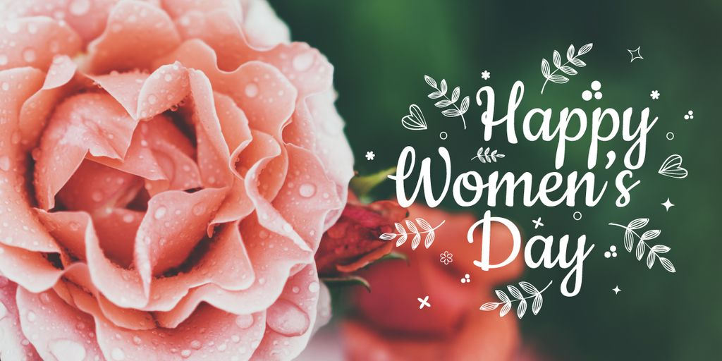 Women's day greeting card — Crear un diseño