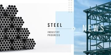 Industrial steel production