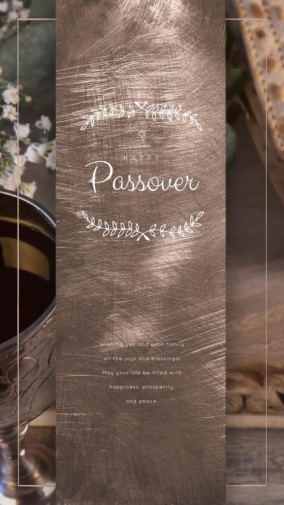 Happy Passover holiday — Create a Design