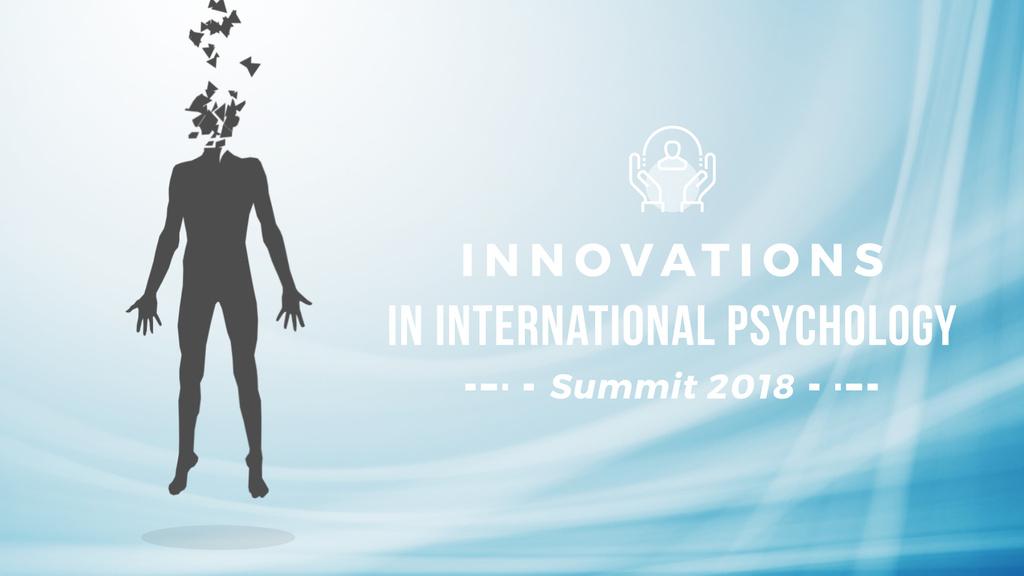 Psychology Concept Levitating Man Head to Pieces — Создать дизайн
