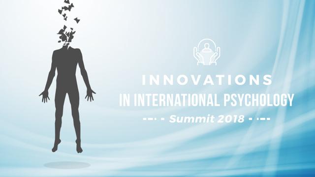 Plantilla de diseño de Psychology Concept Levitating Man Head to Pieces Full HD video