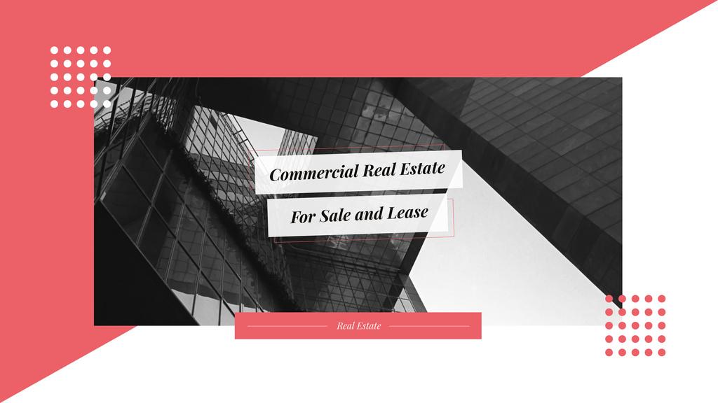 Modern glass building — Crea un design