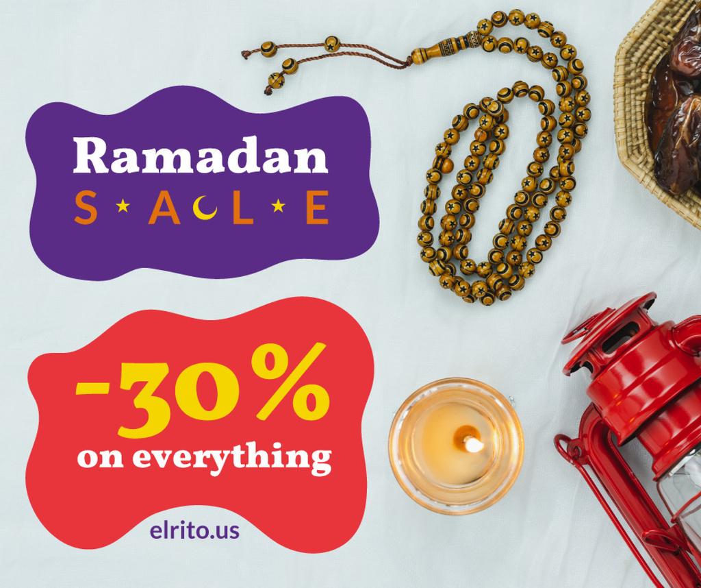 Ramadan Kareem greeting — Crear un diseño