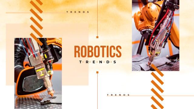 Plantilla de diseño de Modern robotics technology Youtube