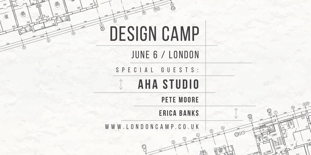 Design camp in London — ein Design erstellen