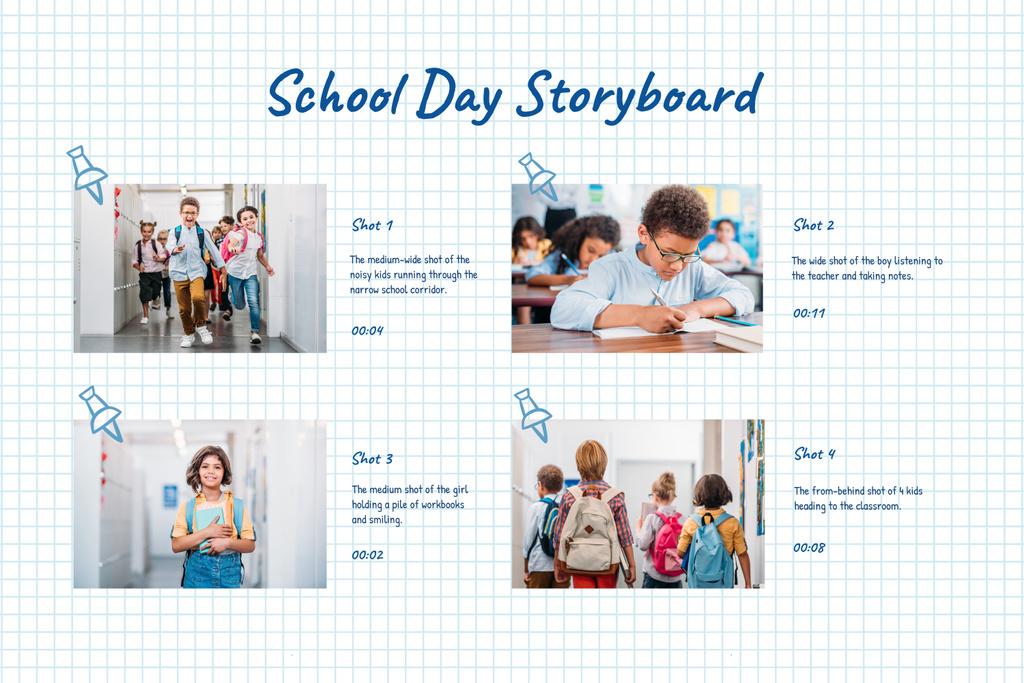 Happy Kids at School — Crea un design
