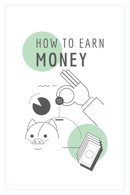 How to earn money Ad Pinterestデザインテンプレート