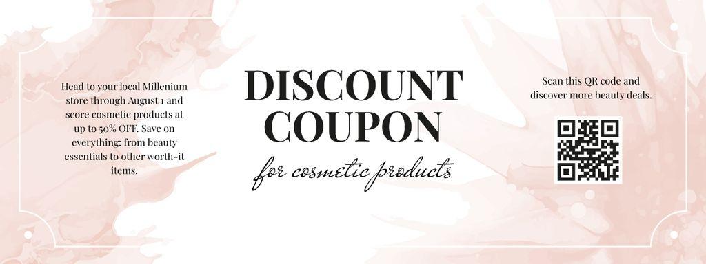 Cosmetics Products Discount Offer - Vytvořte návrh