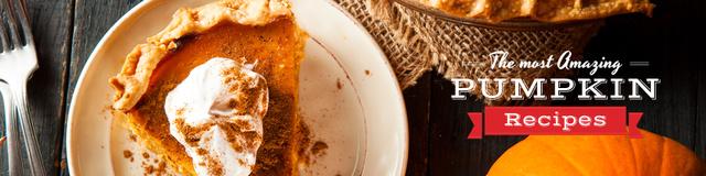 Designvorlage Pumpkin recipes Ad für Twitter