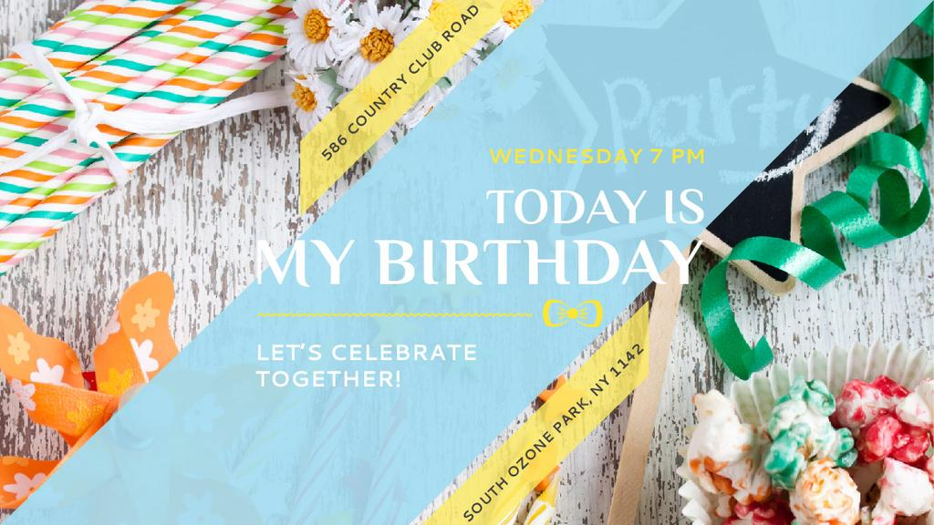 Birthday party in South Ozone park — ein Design erstellen