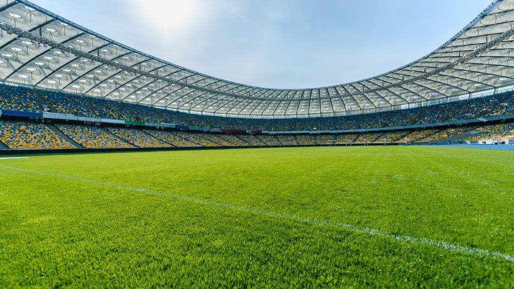 Empty football Stadium — ein Design erstellen