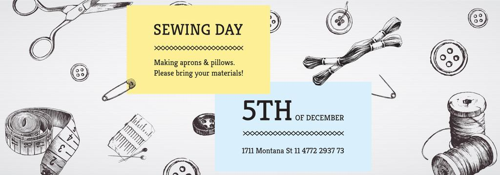 Sewing day event  — Создать дизайн