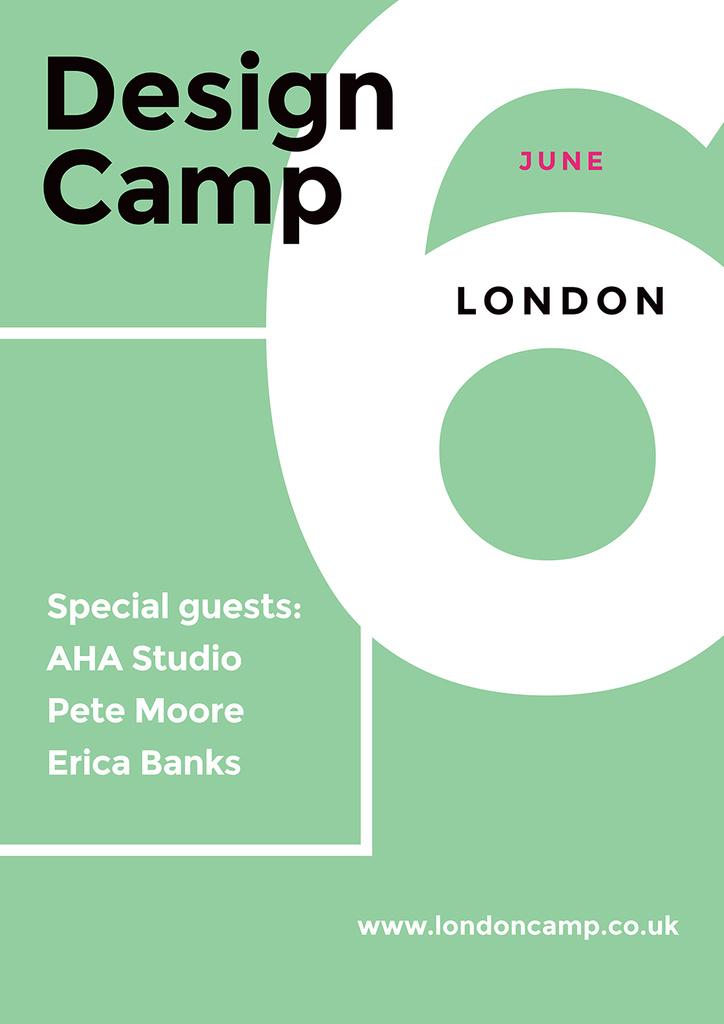 Design Camp in London — Crear un diseño