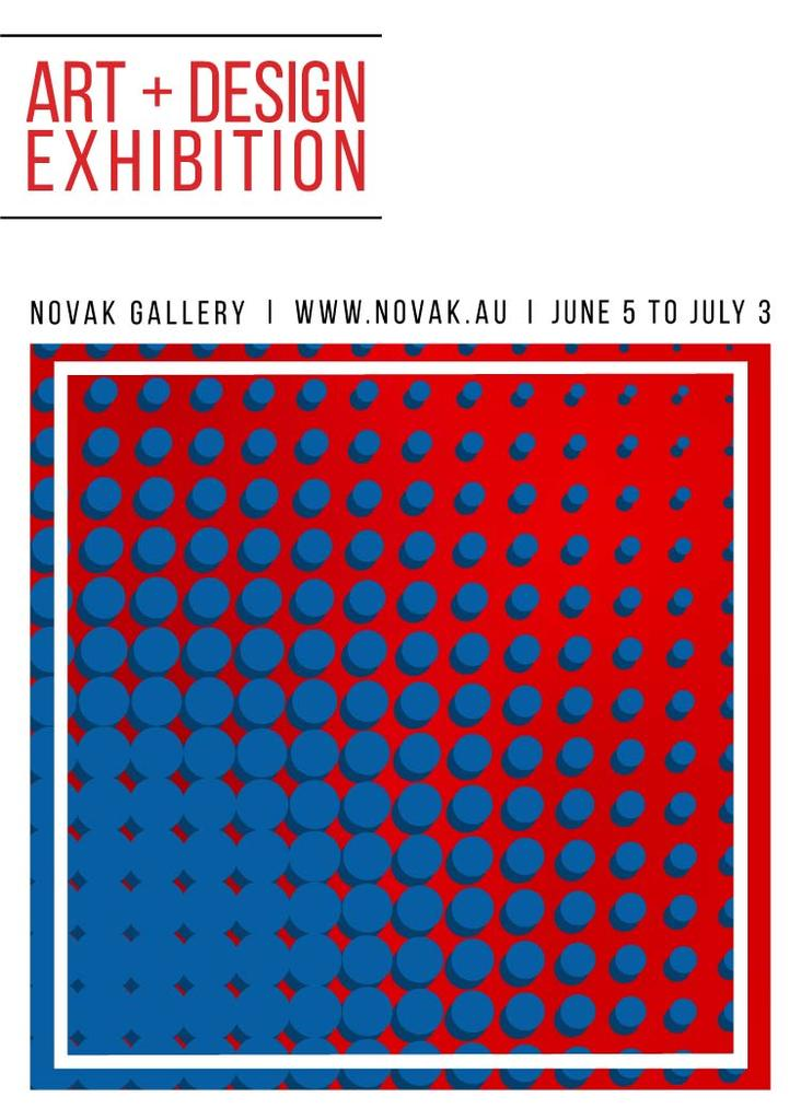 Art exhibition poster — Create a Design