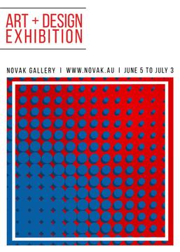 Art exhibition poster