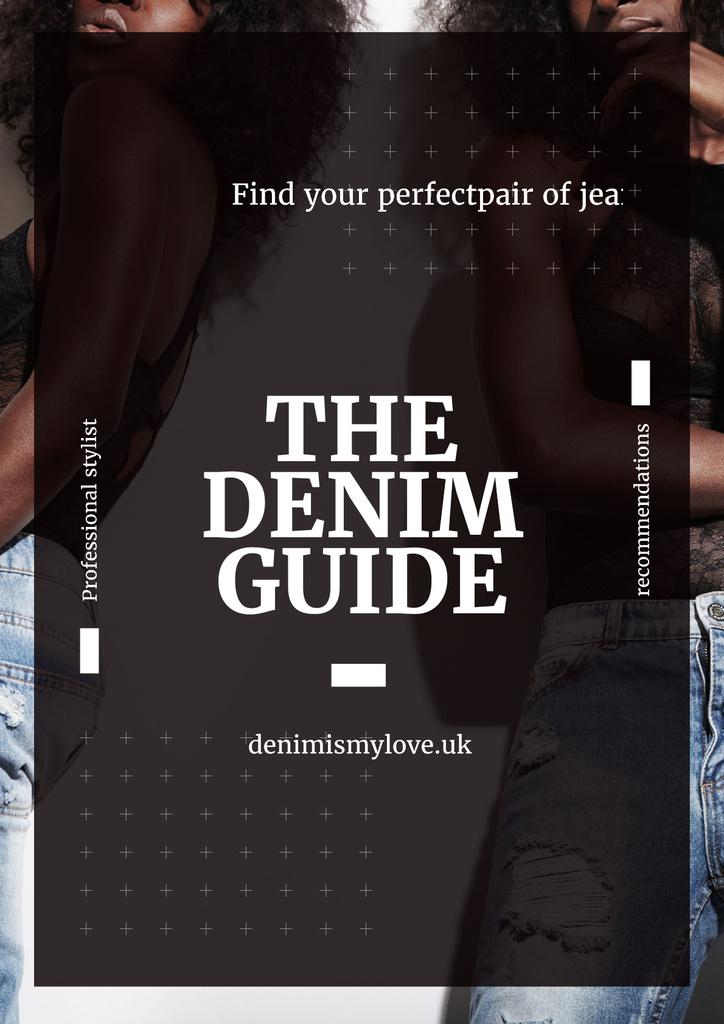 Denim guide with Attractive Women — Crear un diseño