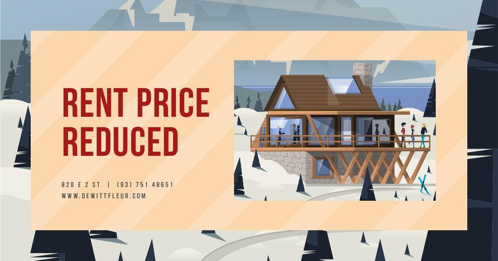 Snowy mountain resort — Crear un diseño