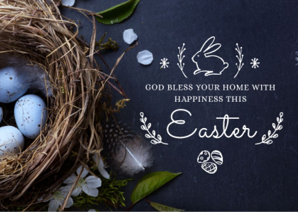 Happy Easter Day postcard — Create a Design