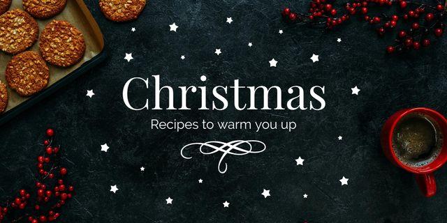Modèle de visuel Christmas ginger cookies - Twitter