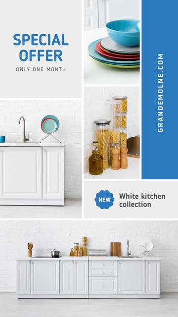 Kitchen Design Studio Ad Modern Home Interior Instagram Story Modelo de Design