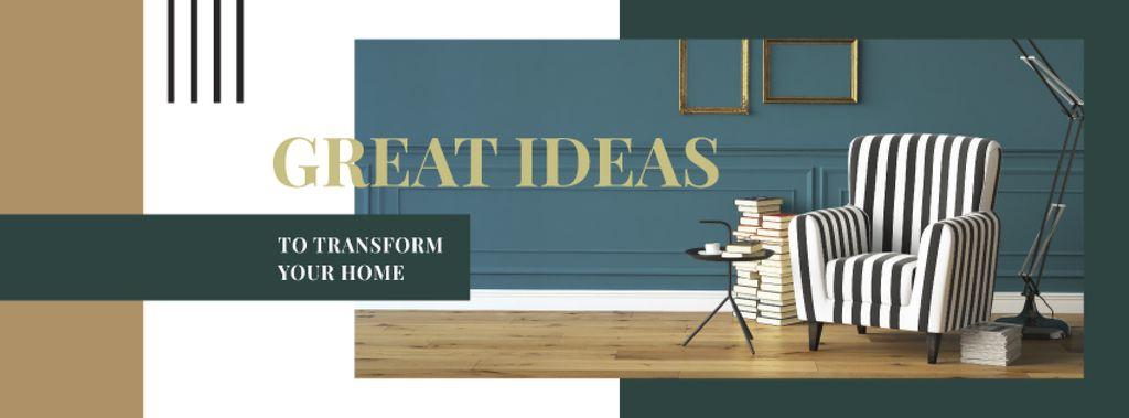 Cozy interior in monochrome colors — Crear un diseño