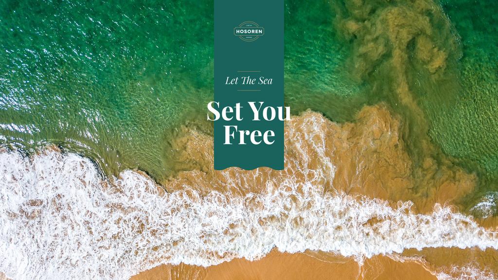 Let the sea set you free — ein Design erstellen