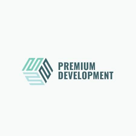 Development Business Simple Icon Logo – шаблон для дизайна