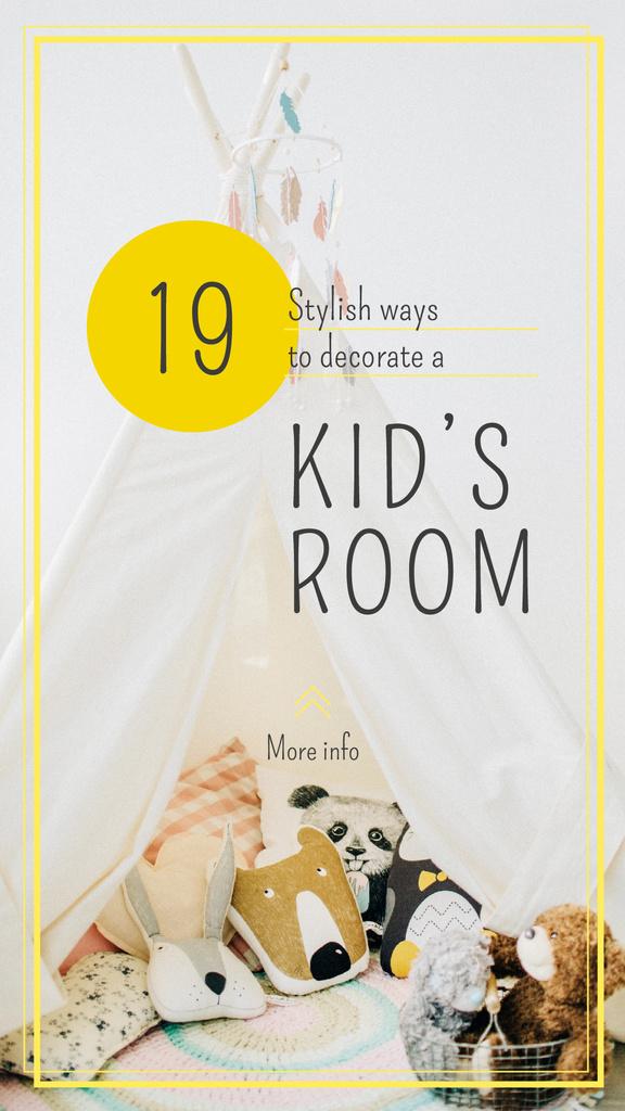 Toys in nursery interior — Crea un design
