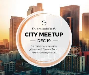 City meetup announcement