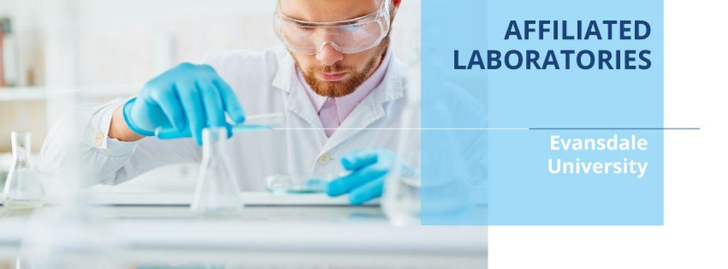 Affiliated laboratories  in University poster — Maak een ontwerp