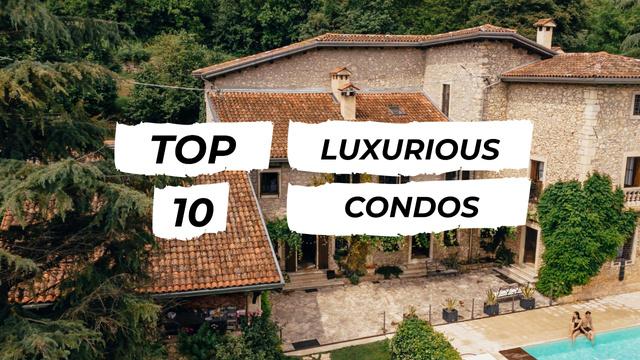 Modèle de visuel Residential Modern House with Pool - Youtube Thumbnail