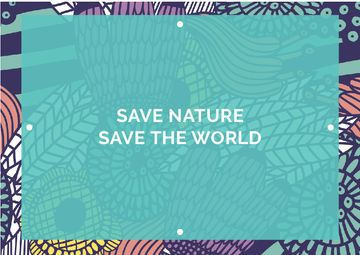 Citation about saving the nature