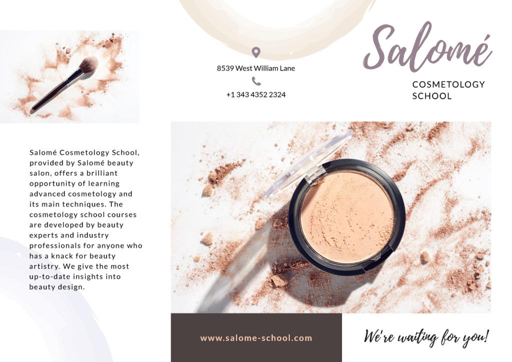 Cosmetology School promotion — Maak een ontwerp